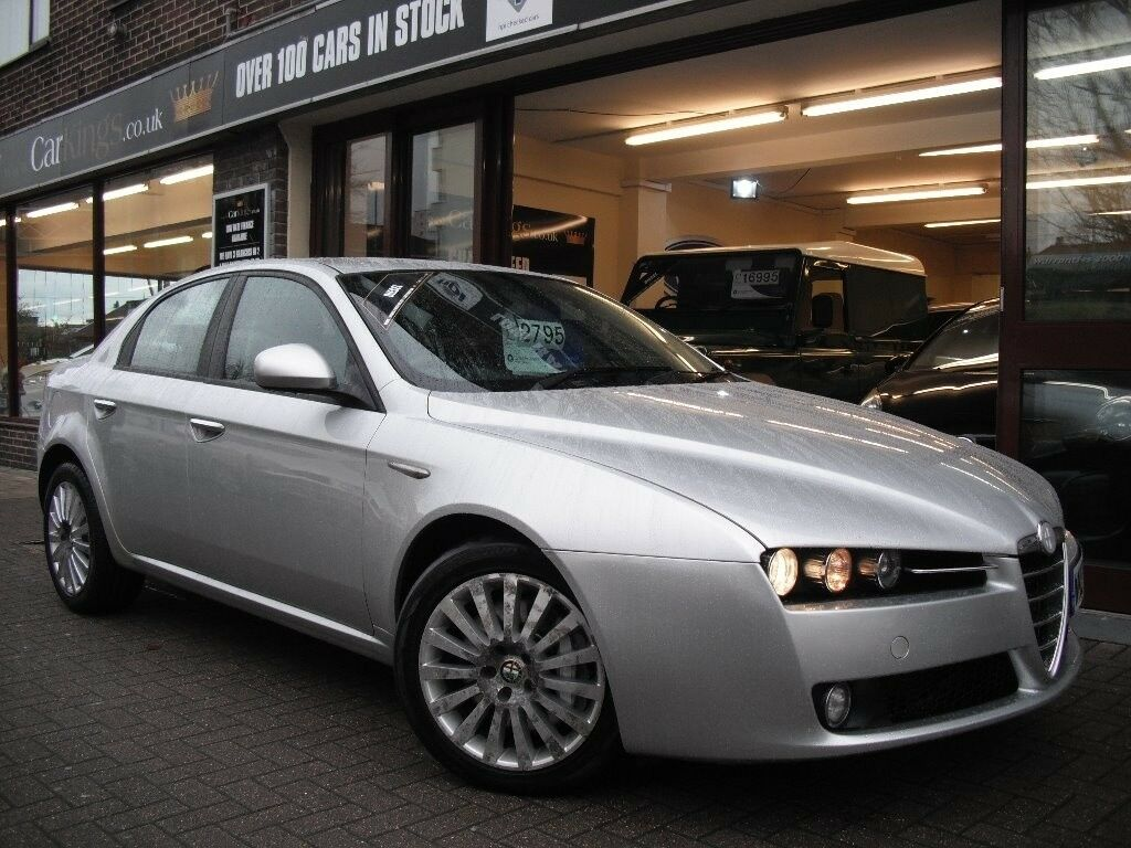 alfa romeo 159 2 4 jtdm lusso 4dr silver 2007 in st. Black Bedroom Furniture Sets. Home Design Ideas