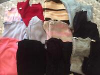 Women's tops and cardigans size 12