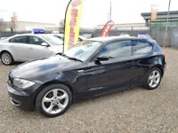 2008 BMW 1 Series 2.0 118d ES 3dr Diesel FINANCE AVAILABLE HPi CLEAR 3 Month RAC Warranty Included
