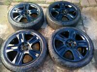 "18"" Alloys with 245/50/18 tyres"