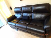 DFS Custom made Narvona 3 Seater with 2 built in power Recliners still under Warranty
