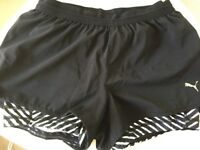 Activewear - Reebok CrossFit shorts and Puma shorts (great condition, barely worn)