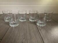 Whiskey glasses - William Grants finest scotch x 5 glasses + 1 FREE!!