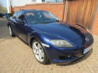MAZDA RX-8 231 PS, HPI clear, only 2 owners from new, lower car tax