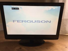 "Ferguson 24"" LCD/DVD TV - Excellent Condition"
