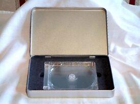 NEW CD A5 PRESENTATION TINS. FITS STANDARD - SUPER JEWEL BOX CASES - DIGIPAKS - £22.50 FOR BOX OF 6