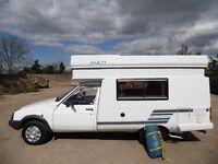citroen c15 hy lo pop top 2 berth camper,very low mileage with full main dealer history,new awning!