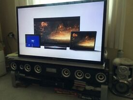 SONY BRAVIA 46inc +stand TV with speakers