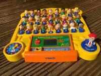 Kids vTech interactive classroom toy.