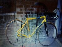 Yellow Giant TCR Time Trial bike