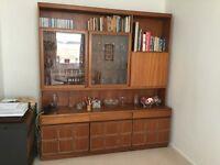Solid Wood Wall/Display Cabinet