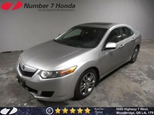 2010 Acura TSX Sunroof, 6-Speed Manual!