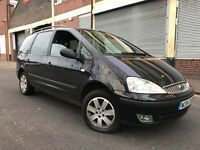 Ford Galaxy 2004 1.9 TDi Zetec 5 door AUTOMATIC, 7 SEATER, FAMILY CAR