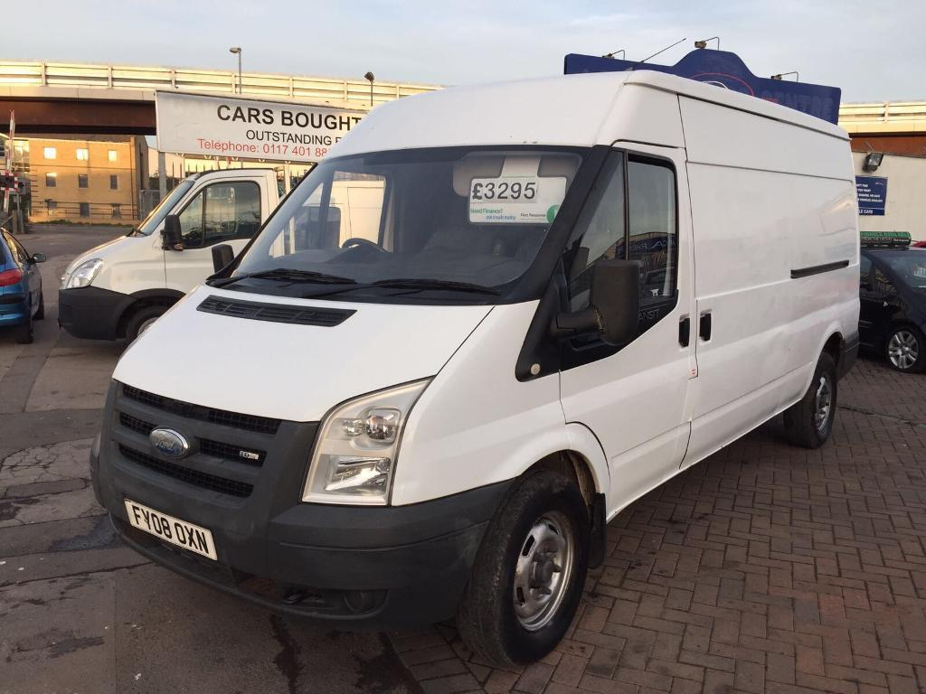 2008 08 FORD TRANSIT 350 LWB LONG WHEEL BASE SUPERB VAN ONE YOU NEED TO SEE AND DRIVE ! NEW GEARBOX!