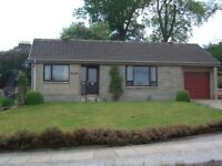 Newton Stewart - 2 bedroom bungalow, quiet location. Available early September.