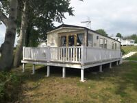 *NOW INC 2018 PITCH FEES* Fab 3 bed, sea views, decking, for sale on Isle of Wight