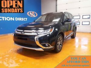 2016 Mitsubishi Outlander GT 7 PASSENGER! LEATHER! 4X4! SUNROOF!