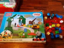 Thomas cranky at Brendam docks set brand new with extras