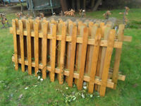 6 palisade fence panels for sale, (H)120 x (W)183cm