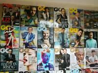 GQ magazines job lot, excellent condition.