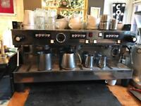 La Marzocco Linea 3 group coffee machine + Mazzer grinder + water filter