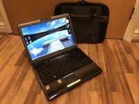 13.3'' TOSHIBA Equium U400 Shiny Laptop: *Intel Core2Duo 2.00GHz*3GB*160GB*WiFi*Cam*Win7*Office2016