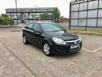 2007 VAUXHALL ASTRA 1.4 - ONLY 67K LOW MILEAGE BLACK, MANUAL, PETROL, LONG MOT, 5 DOOR, CHEAP CARS