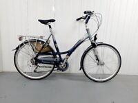 z 🚲BATAVUS JAKIMA Dutch City Bike 21 Speed XL Size Dynamo Light Front and Saddle suspension 🚲🚲