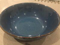 Denby serving bowl imperial blue