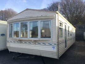 Willerby Leven DOUBLE GLAZED CARAVAN 35x12x2 static caravan mobile home
