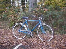 montgomery ward vintage 3 speed classic,new tyres just fitted,runs perfectly