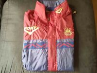 WEST HAM PONY VINTAGE AND RETRO JACKET IN VERY GOOD CONDITION XL SIZE