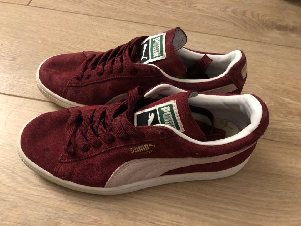 quality design 1c869 5cd98 Puma red suede trainers | in Washington, Tyne and Wear | Gumtree