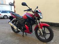 FULLY WORKING 2016 Lexmoto Aspire 125cc motorcycle 125 cc with only 300 miles. Like new.