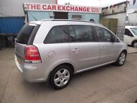 7 SEATER VAUHALL ZAFIRA ENERGY ,(2006)MPV .LOW MILEAGE,TEL,07984263176.....