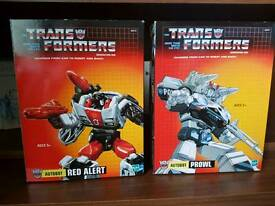 Transformers diecast figurines