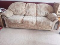 Sofas and 2 armchairs
