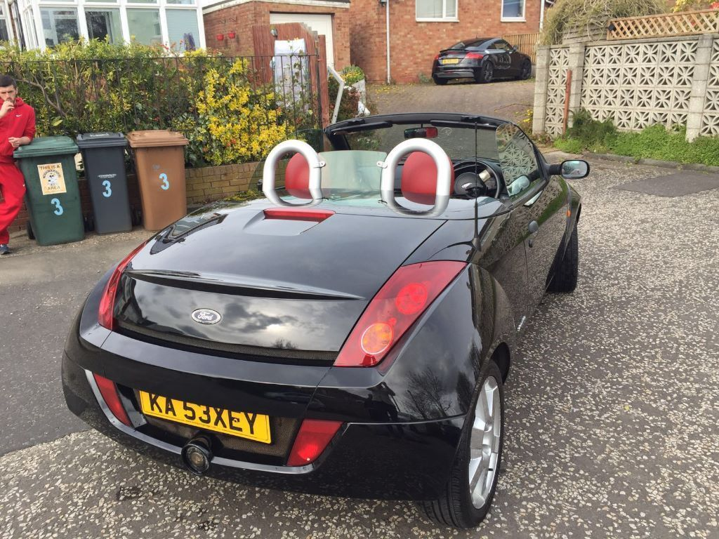 convertible ford streetka 1 6 winter with hard top. Black Bedroom Furniture Sets. Home Design Ideas