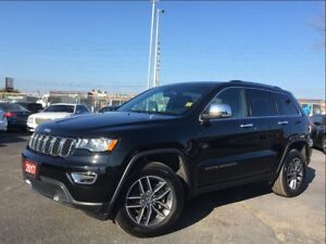 2017 Jeep Grand Cherokee LIMITED**LEATHER**NAV**BACK UP CAM**BLU