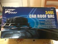 Car roof bag new £15