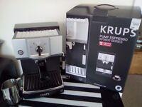 KRUPS Pump Espresso Coffee Machine With Milk Frother