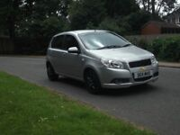 2011 (11) Chevrolet Aveo, 5 Door Hatchback 1200cc