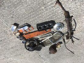 Jaguar and mini parts