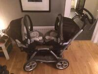 Mamas and Papas Twin Pram
