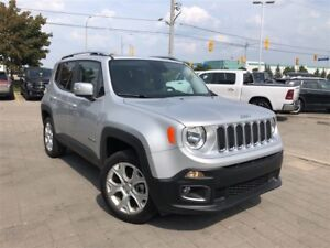2017 Jeep Renegade LIMITED**SUNROOF**LEATHER**NAVIGATION**