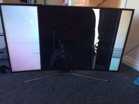 """49"""" Samsung curve smart tv for spares and repairs"""