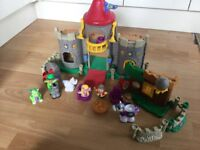 Little people castle and figures