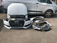 AUDI S3 A3 SALOON 8v 2.0 CJXC FRONT END Spares salvage 2013 - 2016
