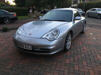 Porsche Carrera 911 Metallic Silver