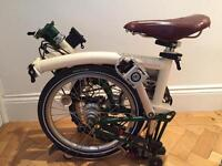 Brompton H3L fully serviced with game bag